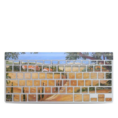 Apple Wireless Keyboard Skin - Wheat Fields