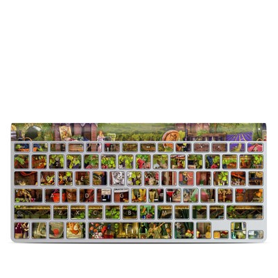 Apple Wireless Keyboard Skin - Wine Shelf