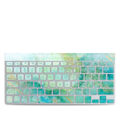 Apple Wireless Keyboard Skin - Winter Marble