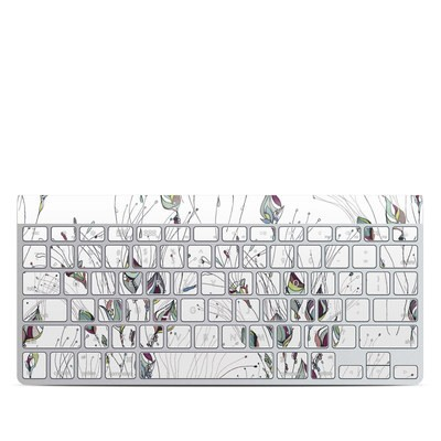 Apple Wireless Keyboard Skin - Wildflowers