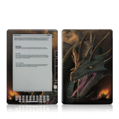 Kindle DX Skin - Annihilator