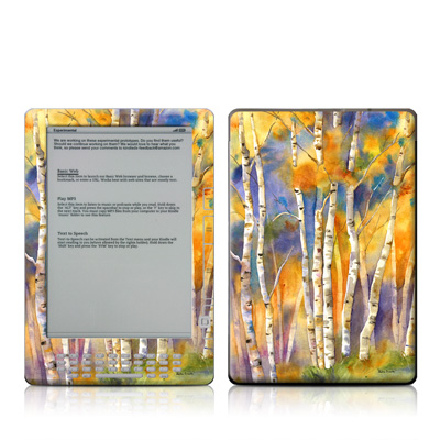 Kindle DX Skin - Aspens