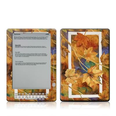 Kindle DX Skin - Autumn Days