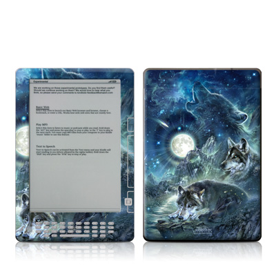 Kindle DX Skin - Bark At The Moon