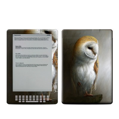 Kindle DX Skin - Barn Owl