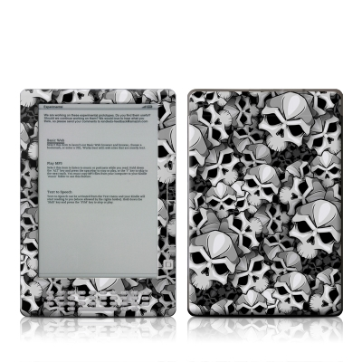 Kindle DX Skin - Bones