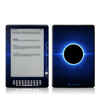 Kindle DX Skin - Blue Star Eclipse