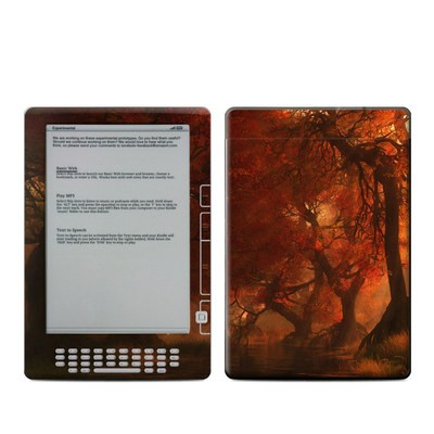 Kindle DX Skin - Canopy Creek Autumn
