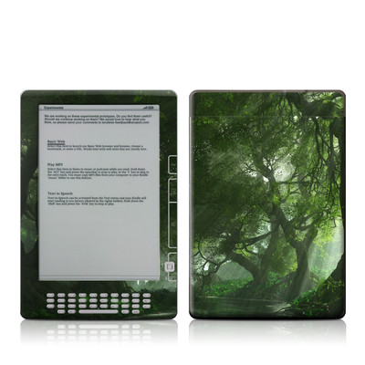 Kindle DX Skin - Canopy Creek Spring