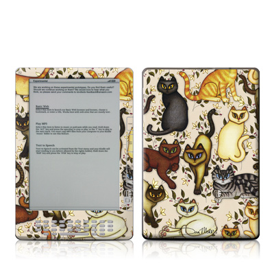 Kindle DX Skin - Cats