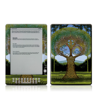 Kindle DX Skin - Celtic Tree