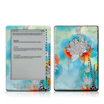 Kindle DX Skin - Coral