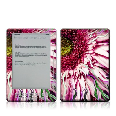 Kindle DX Skin - Crazy Daisy