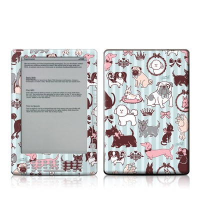 Kindle DX Skin - Doggy Boudoir