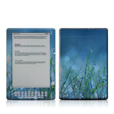 Kindle DX Skin - Dew