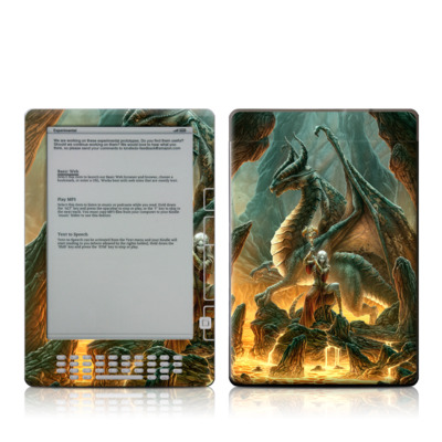 Kindle DX Skin - Dragon Mage