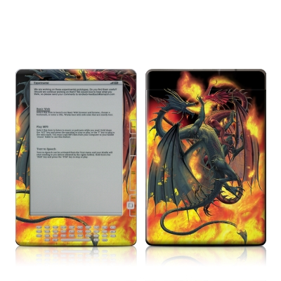 Kindle DX Skin - Dragon Wars