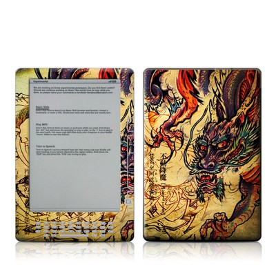Kindle DX Skin - Dragon Legend