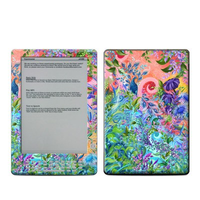 Kindle DX Skin - Fantasy Garden