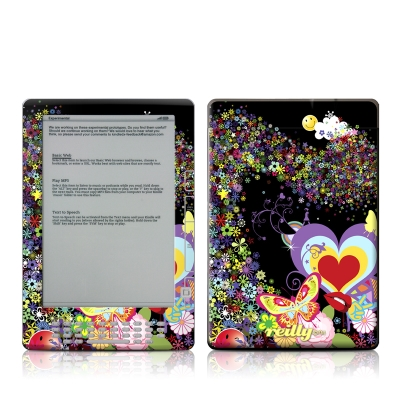 Kindle DX Skin - Flower Cloud