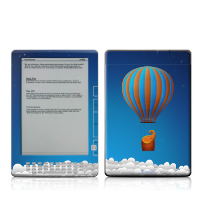 Kindle DX Skin - Flying Elephant