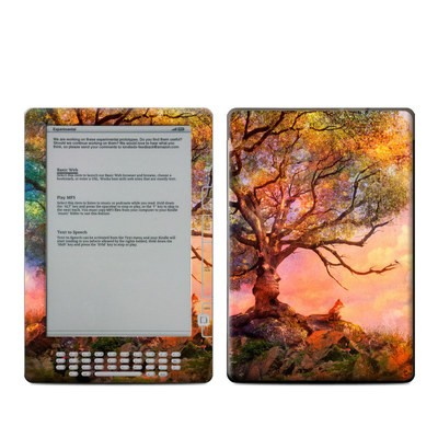 Kindle DX Skin - Fox Sunset