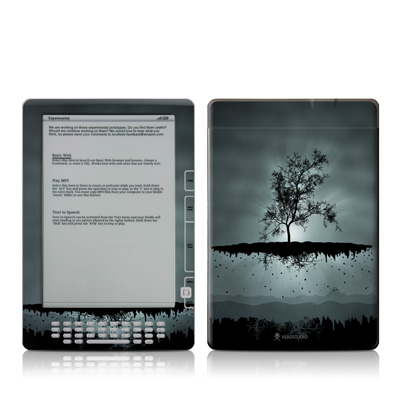 Kindle DX Skin - Flying Tree Black