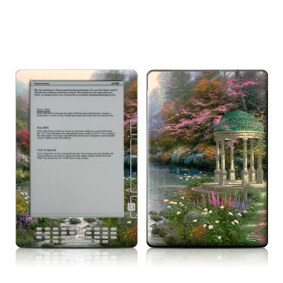 Kindle DX Skin - Garden Of Prayer