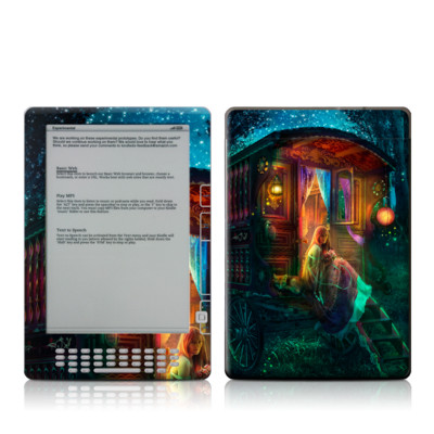 Kindle DX Skin - Gypsy Firefly