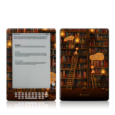 Kindle DX Skin - Google Data Center