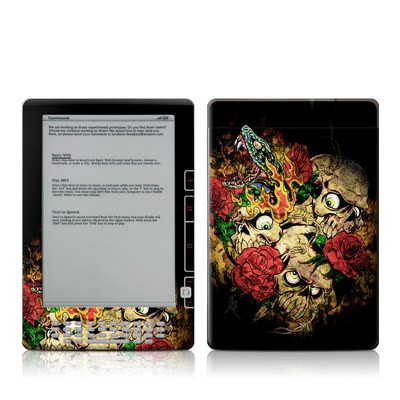 Kindle DX Skin - Gothic Tattoo
