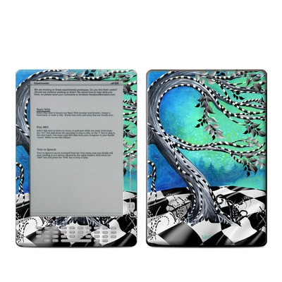 Kindle DX Skin - Haunted Tree
