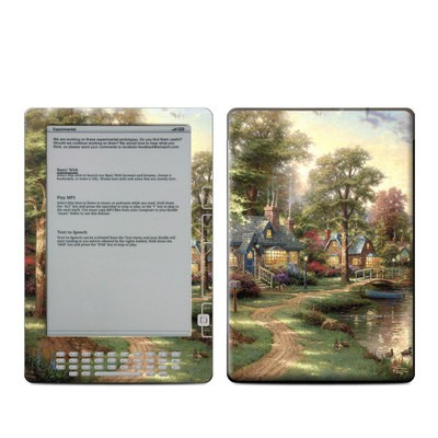Kindle DX Skin - Hometown Lake