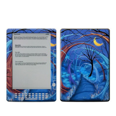 Kindle DX Skin - Ichabods Forest