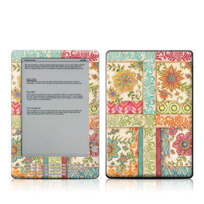 Kindle DX Skin - Ikat Floral