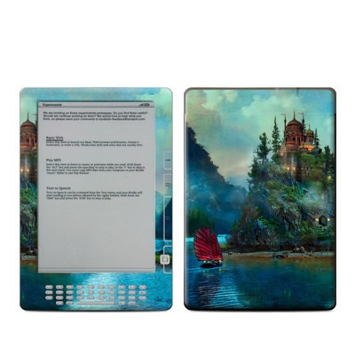 Kindle DX Skin - Journey's End