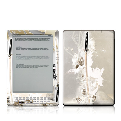 Kindle DX Skin - Katana Gold