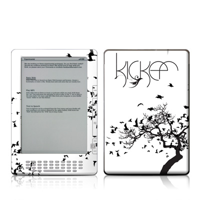 Kindle DX Skin - KICKER Birds