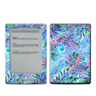 Kindle DX Skin - Lavender Flowers