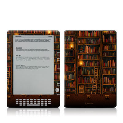 Kindle DX Skin - Library