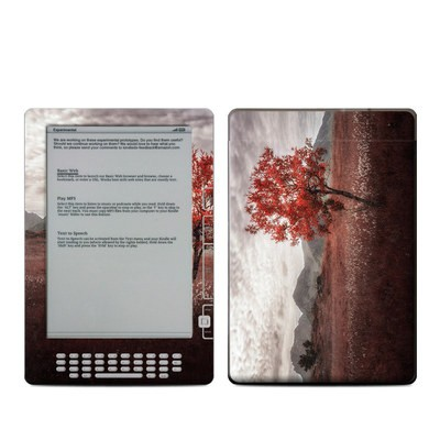Kindle DX Skin - Lofoten Tree
