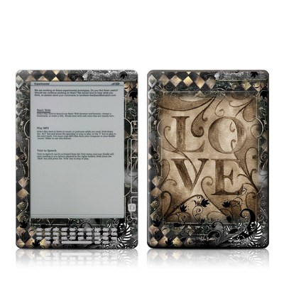 Kindle DX Skin - Love's Embrace