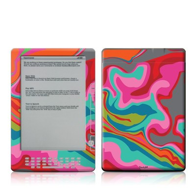 Kindle DX Skin - Marble Bright