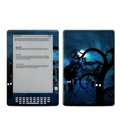 Kindle DX Skin - Midnight Forest