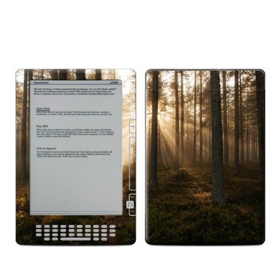 Kindle DX Skin - Misty Trail