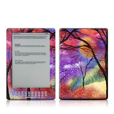 Kindle DX Skin - Moon Meadow