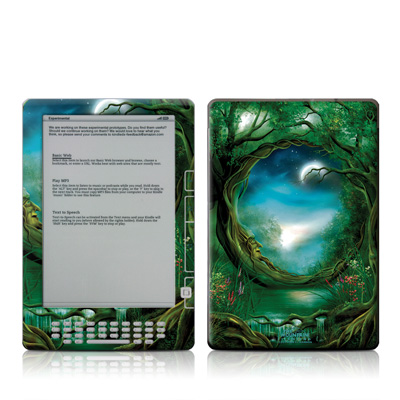 Kindle DX Skin - Moon Tree