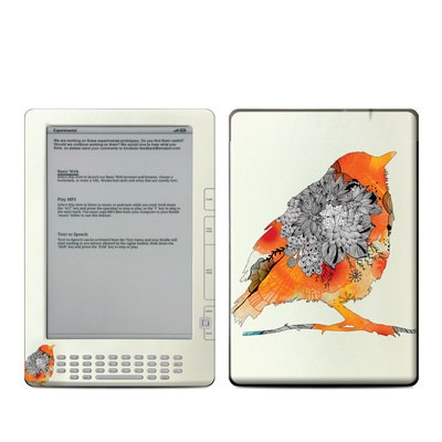 Kindle DX Skin - Orange Bird