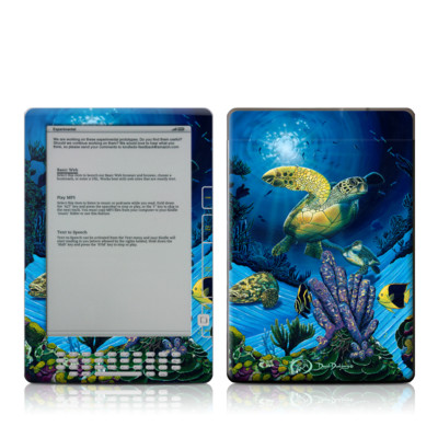 Kindle DX Skin - Ocean Fest