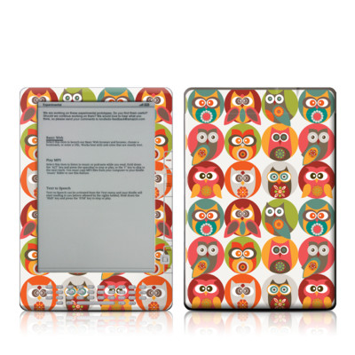 Kindle DX Skin - Owls Family